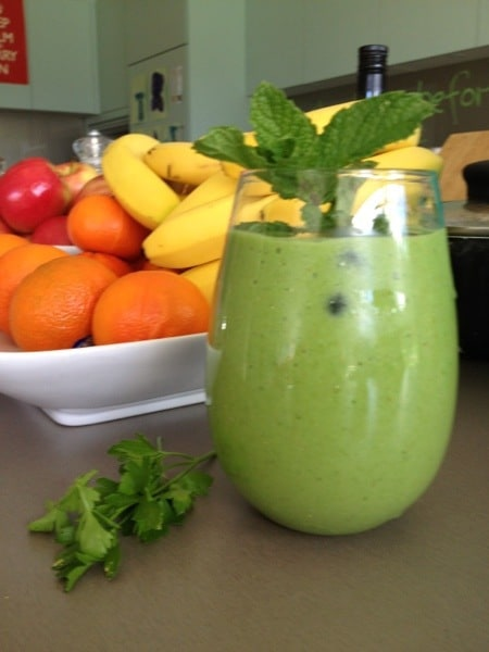 pear avocado spinach protein smoothie