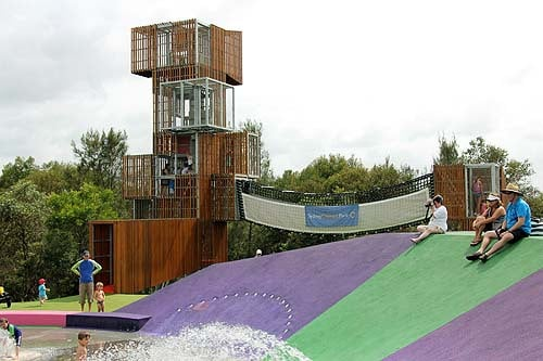 Blaxland Riverside park jungle gym silverwater