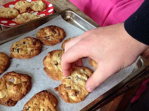 condensed milk biscuits cookies macadamia