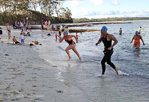 Huskisson Triathlon Festival Swim