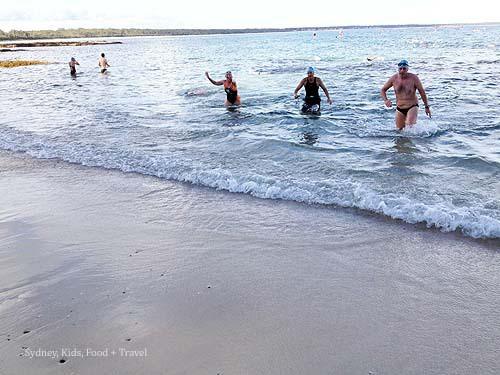 Huskisson Triathlon Festival Ocean Swim Classic