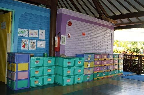 Kids Club Club Med Bali interior mini club