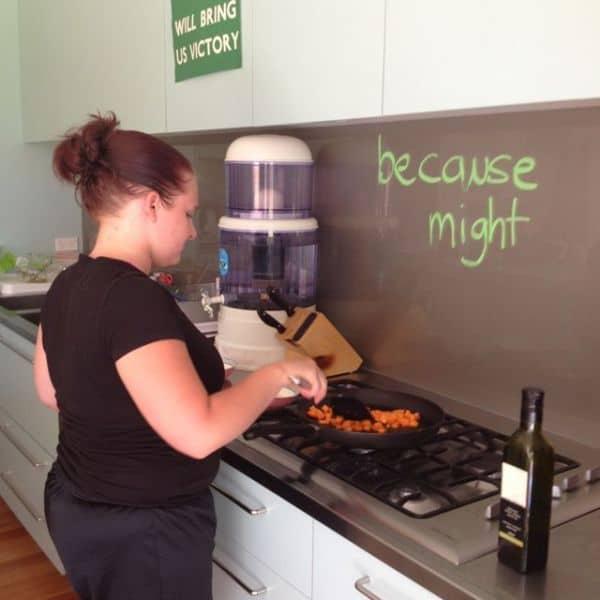 Bethany cooks