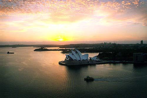 BridgeClimb Dawn Climb Sydney Opera House