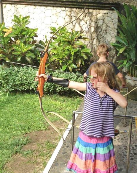 archery kids club club med bali