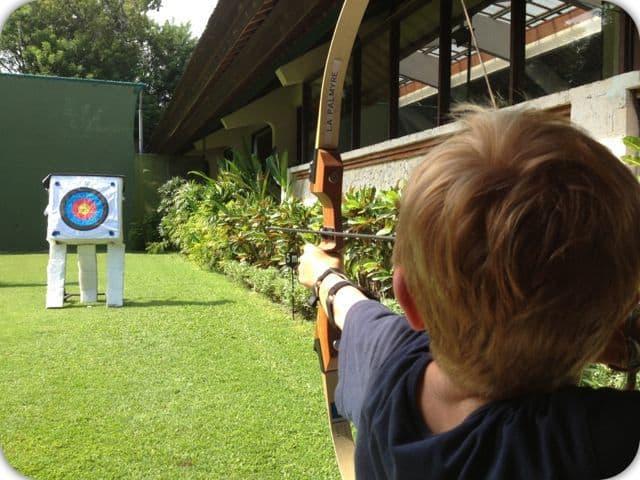 Kids Club Bali mini club archery