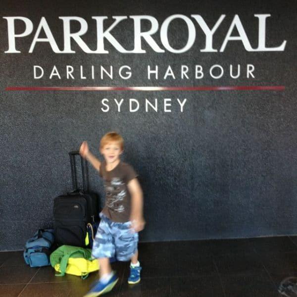 PARKROYAL Jamie sign