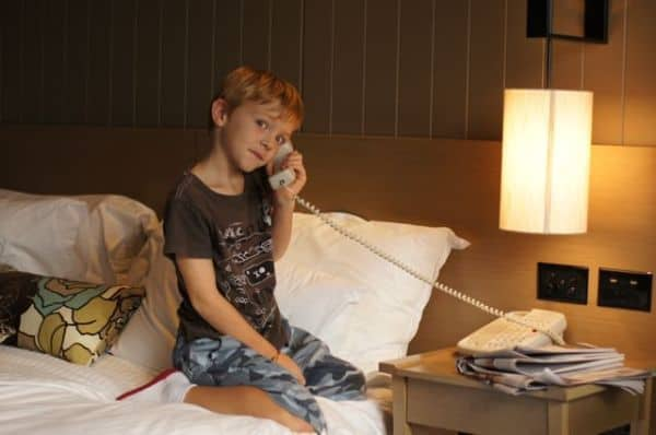 Jamie on phone