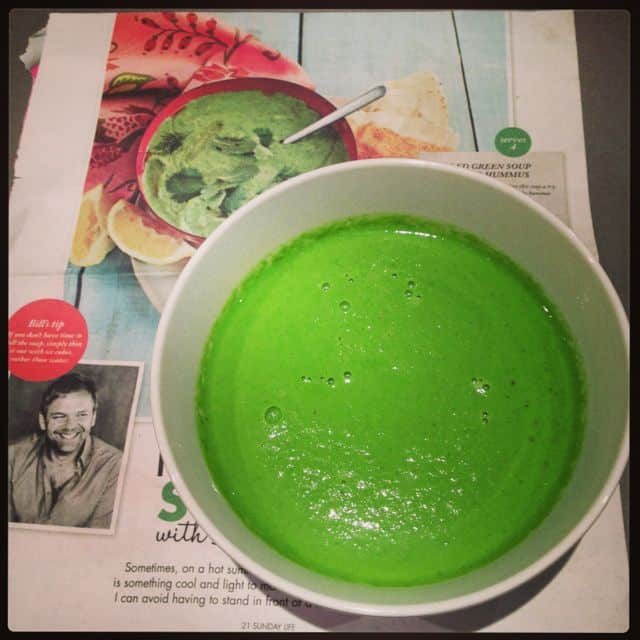 Bill Granger's Chilled Green Soup- In The Thermomix