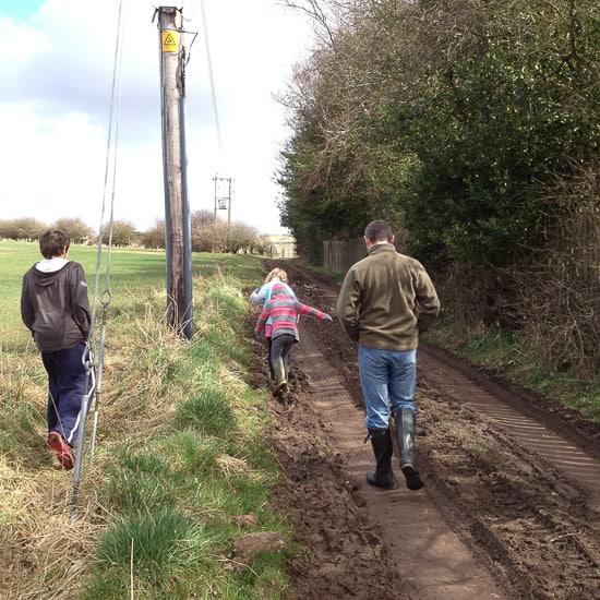 Muddy Walk-1