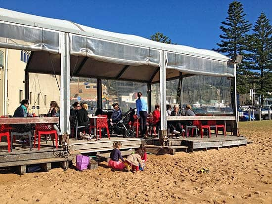 The Deck at Collaroy – Has Been Updated and Renamed Pelican Pavilion