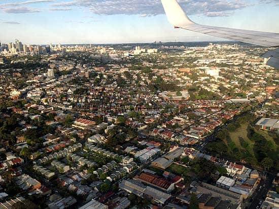 flying suburbs