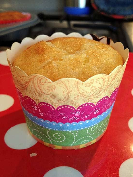orange marmalade muffin