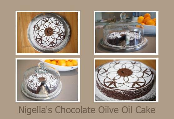 Nigella Lawson chocolate olive oil cake recipe
