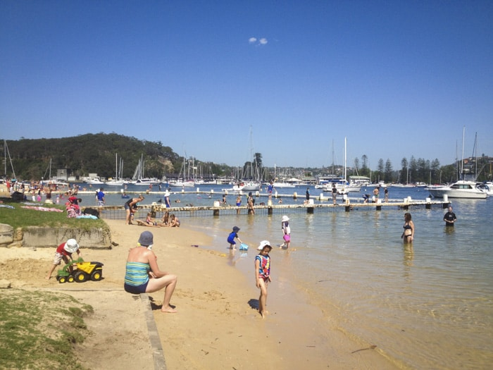 Clontarf Beach, Clontarf Reserve Middle Harbour