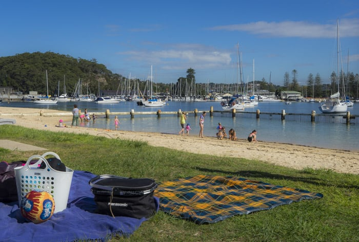 Clontarf beach baths playground reserve