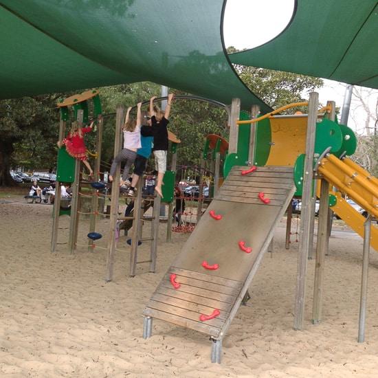 Clontarf Beach Middle Harbour Sydney Playground