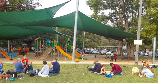 Clontarf Beach Middle Harbour Sydney Playground