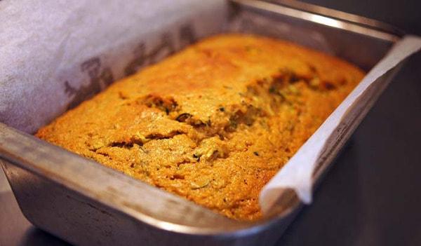 zucchini bread simple spiced