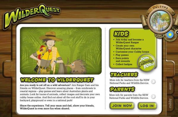 WilderQuest app NSW National Parks and Wildlife