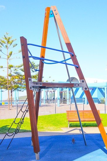 Maroubra Playground beach and skate park