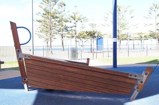 Maroubra Playground beach and skate park