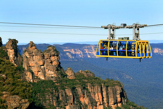 Scenic World Things To Do In The Blue Mountains with kids