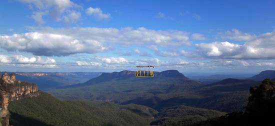 skyway scenic world blue mountains rides