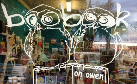 boobooks on owen bookshop huskisson