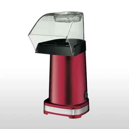 Cuisinart Hot Air Popcorn Machine Metallic Red_1