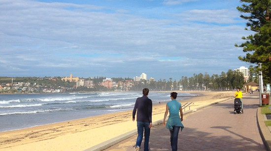 manly queenscliff shelly stroller walk