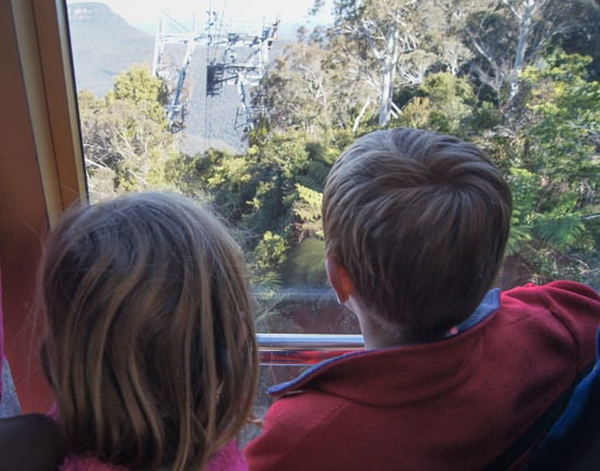 Scenic Cableway at Scenic World Katoomba twins