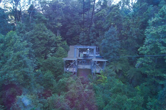 scenic world blue mountains rides cableway descent