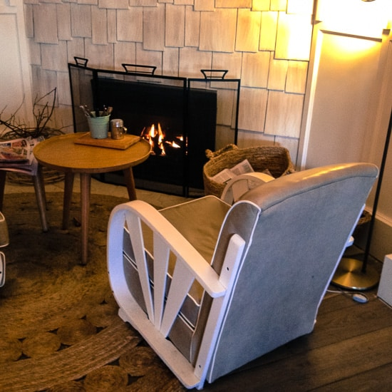 Watsons Bay Boutique Hotel fireplace