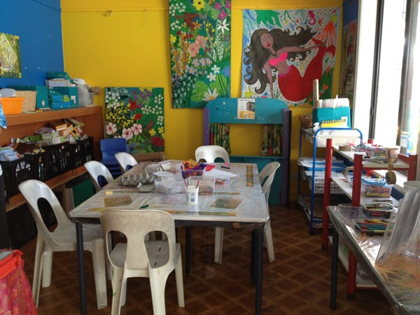 Kids Club Palmer Coolum Resort art room