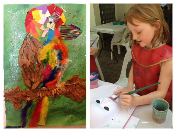 Kids Club Palmer Coolum Resort art crafts