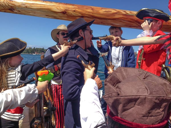 A Tall Ship Family Pirate Cruise on Sydney Harbour – Updates