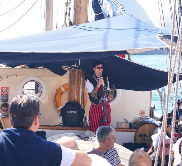 A Tall Ship Family Pirate Cruise on Sydney Harbour