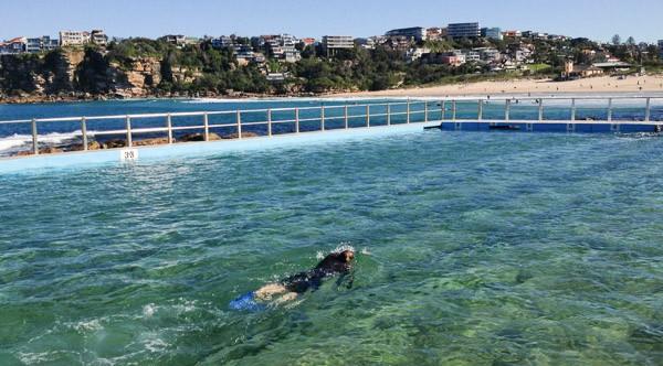 Swimming at Freshwater Pool