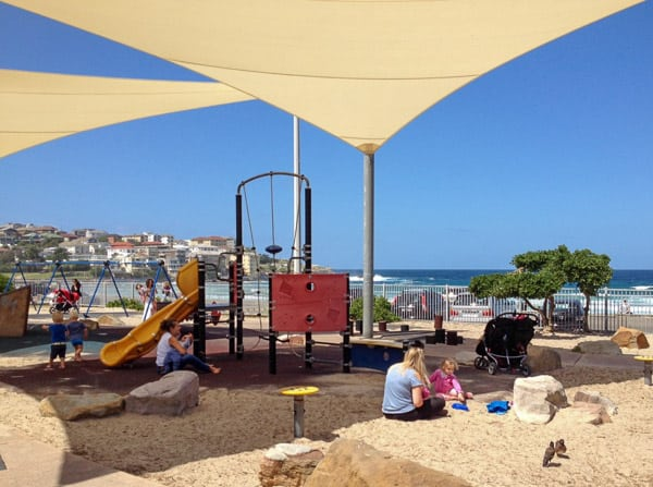 bondi beach playground