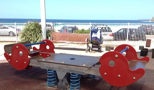 bondi beach playground