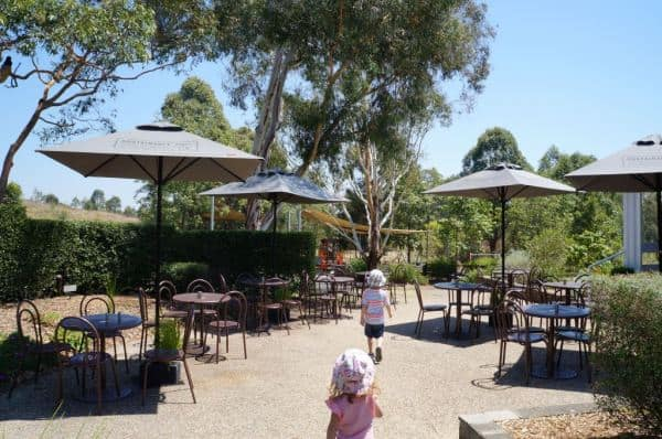 Playground at mt annan botanic gardens cafe
