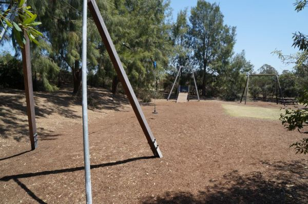 Playground at mt annan botanic gardens flying fox