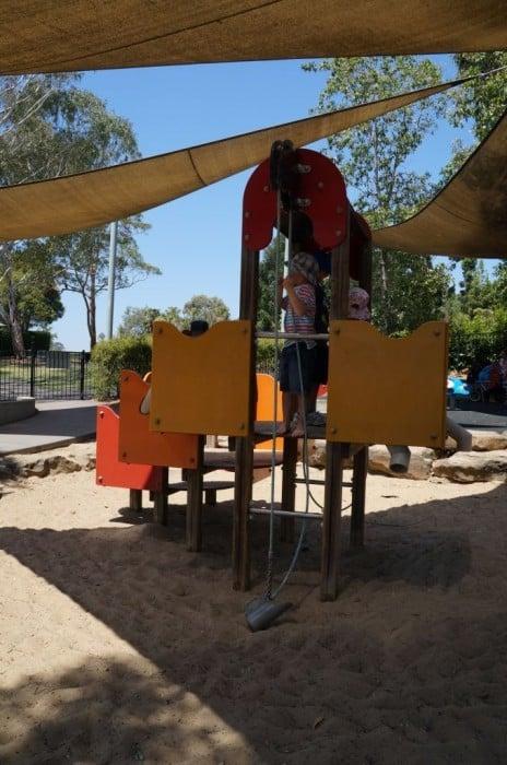 Playground at mt annan botanic gardens 3
