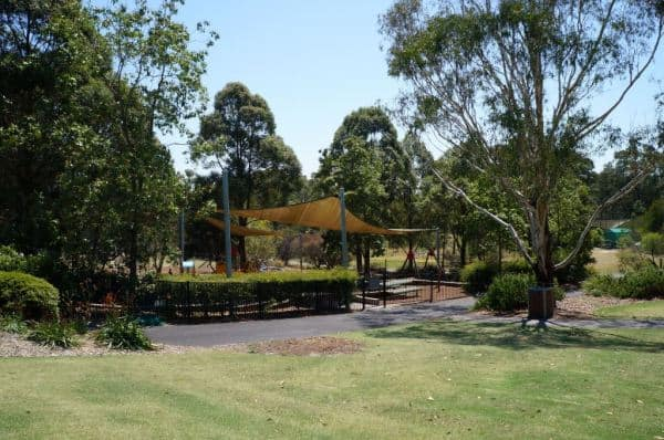 Playground at mt annan botanic gardens