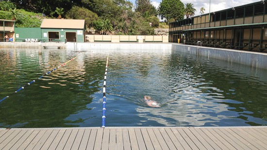 Dawn Fraser Pool baths
