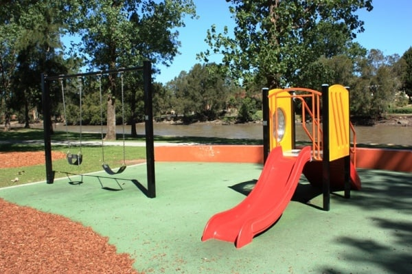 Steel park marrickville water playground
