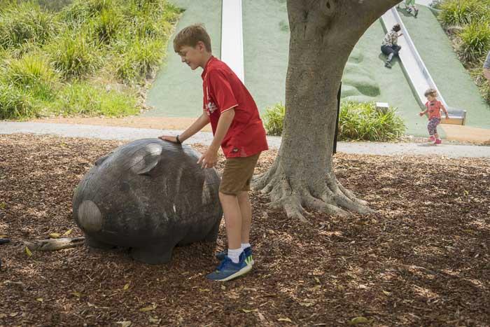 sydney park alexandria sculptures
