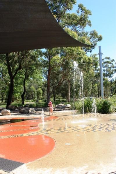 Steel park marrickville water playground