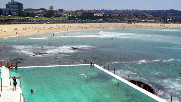 ocean pool at Bondi Beach